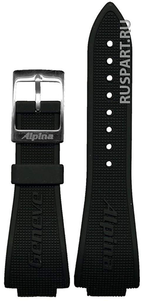 Ремешок часов Alpina AL-28AVRUBBERBLKSS