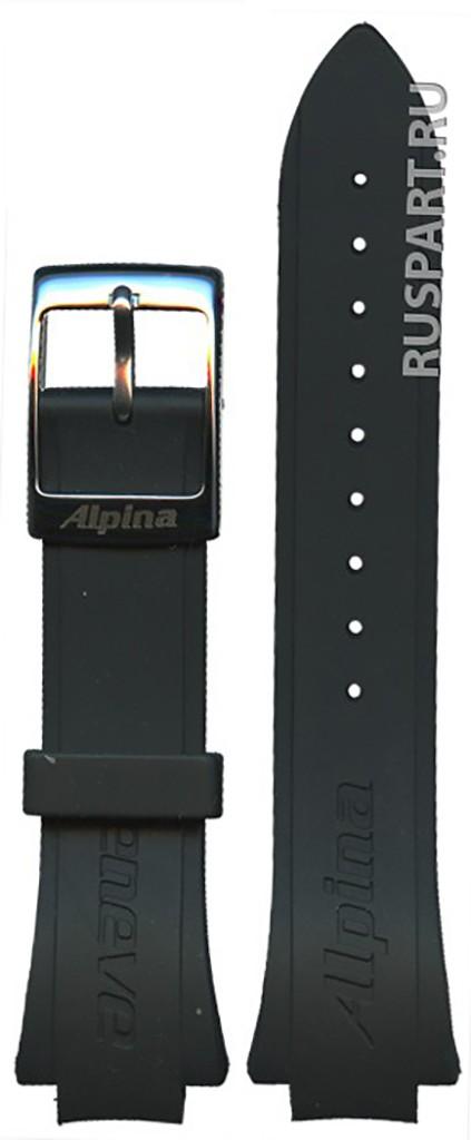 ремешок Alpina ALR-3AECB ALR-3AECB каучук
