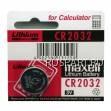 Батарейка часовая (кнопочная) литиевая MAXELL CR2032 2032(M)-bat (CR2032)