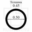Уплотнитель переводной головки (из набора) SUPERPARTS 10шт.0.5х0.45 WR-607-O-0.50X0.45 (RF-607B-P10-2)