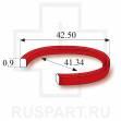 Прокладка под крышку, красный пластик (из набора) SUPERPARTS SansFil, красные WR-668BIG-42.50 (RF-668BIG-42.50)