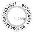 Диск календарный RONDA 7003.L WM-RDA-3504.229AF (3504.229AF)