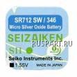 Батарейка часовая, оксид серебра Seizaiken SR712SW B-SZK-SR712SW-B10F (SZK-SR712SW)