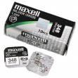 Батарейка часовая, оксид серебра MAXELL SR421SW M348