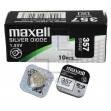 Батарейка часовая, оксид серебра MAXELL SR44W M357